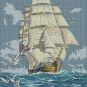 Dimensions 03886 Clipper Ship Voyage